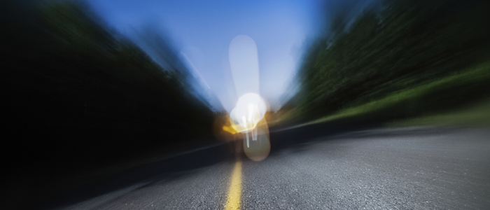 Blurred image of a road