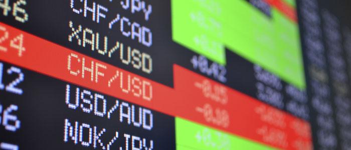 Les taux de change américain et canadien