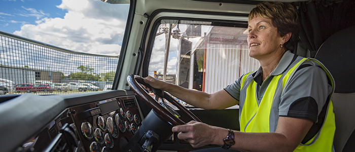Women with Drive empowers women truck drivers in Canada