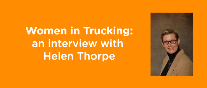 women in trucking interview