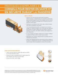 Pratiques exemplaires et conseils pour rester en santé et en sécurité durant la pandémie