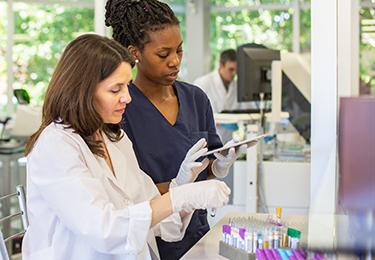Health Two labl Technicians